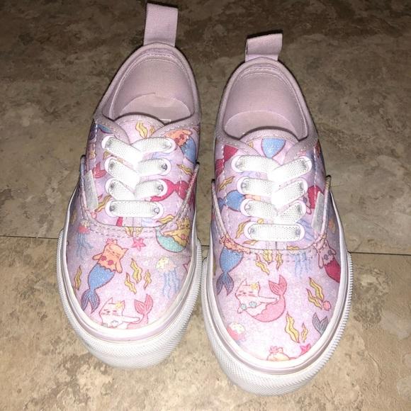 98b95762851b8b Little Girl Mermaid Vans. M 5bac35c403087cf67f5f099c